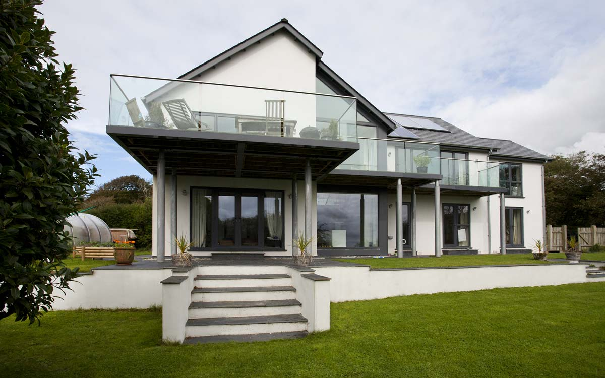 Contemporary Home, Bude