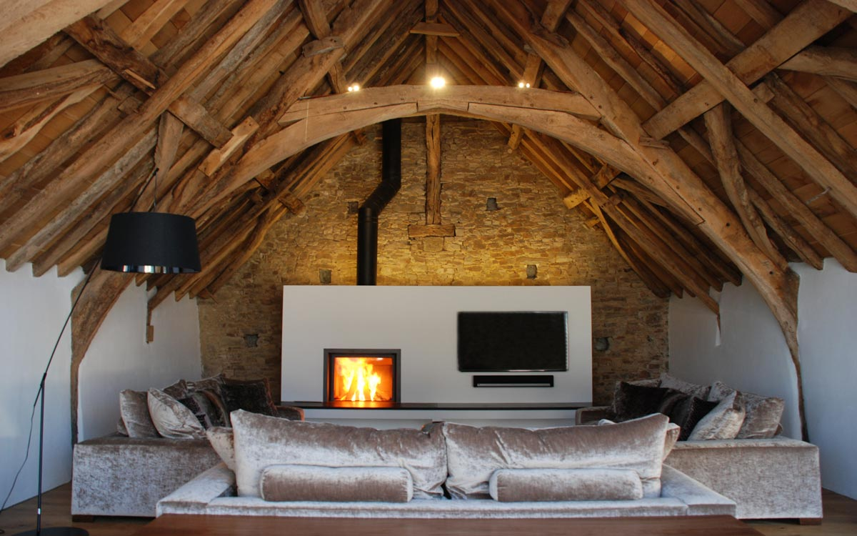 Medieval Barn Conversion, Bude