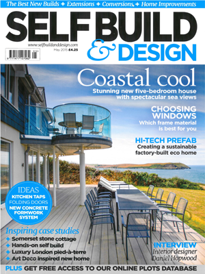Self Build & Design Front Cover Resize Seagrass Polzeath The Bazeley Partnership Architects in Cornwall
