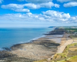 Stunning Aerial Footage of Atlantic View, Widemouth