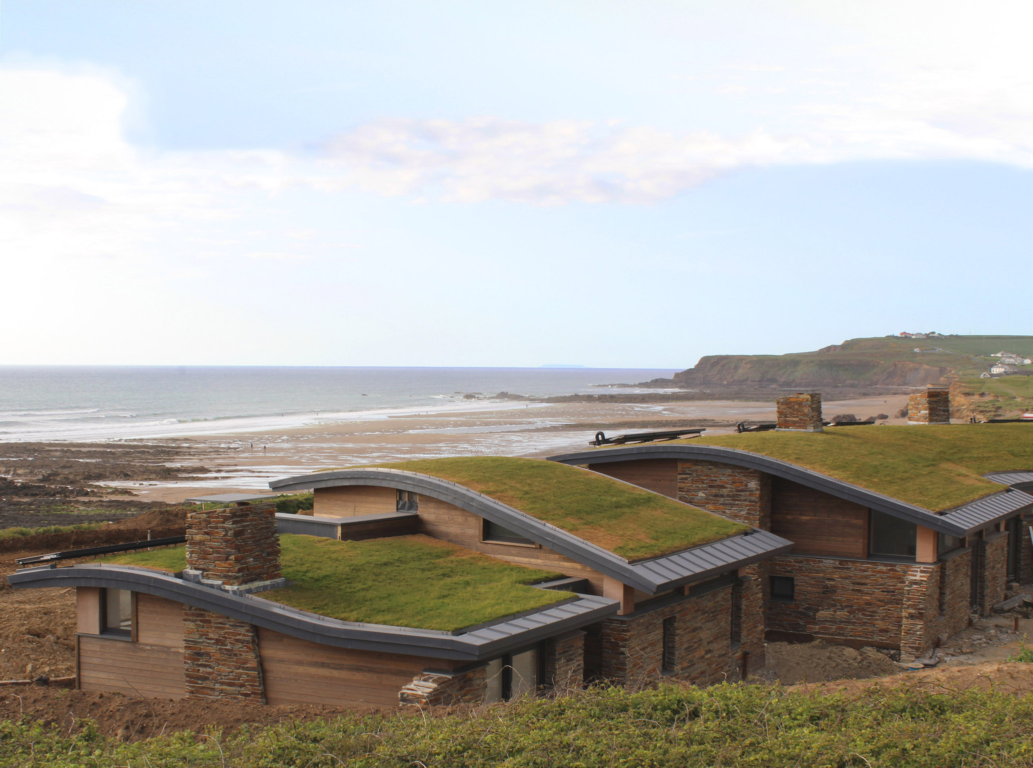 Atlantic View May 2015 by The Bazeley Partnership Architects in Cornwall