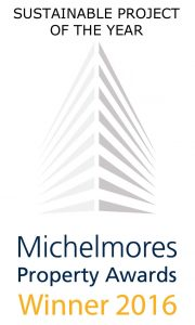 Michelmores Property Awards Sustainable Project of the Year 2016 Grenadier Estates The Bazeley Partnership Cornwall Architects Atlantic View Widemouth Bay