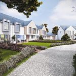 Broadclose Hill Golf Course Site Bude designed by The Bazeley Partnership Architects in Cornwall CGI by Archilime Visualisation