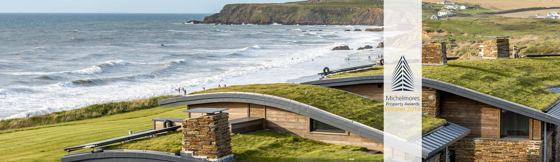 Atlantic View Widemouth Bay Architects in Cornwall The Bazeley Partnership Beach Retreats Michelmores Property Awards