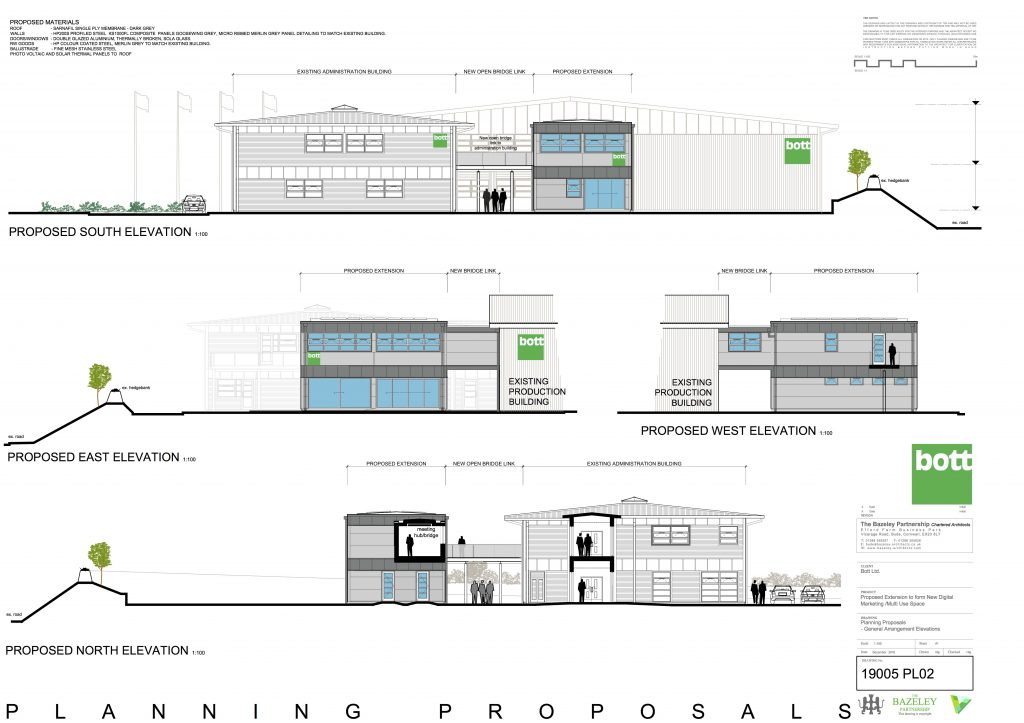 Bott Ltd Bude Planning Proposal 2 - The Bazeley Partnership