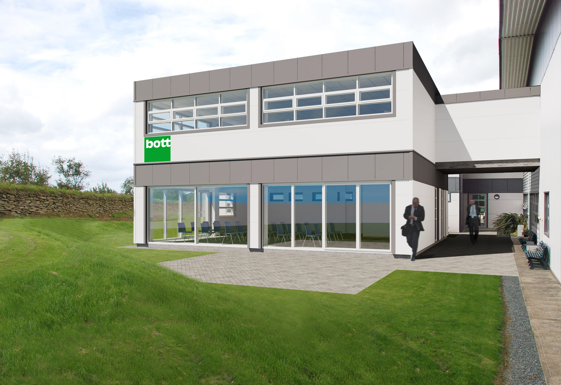 Proposed Extension for Bott Ltd in Bude