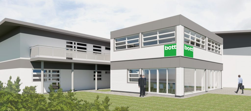 Bott Ltd Bude external view 2 - The Bazeley Partnership