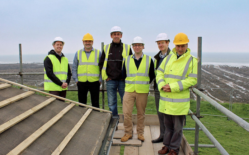 Bazeley Architects Team at Widemouth Bay Cornwall